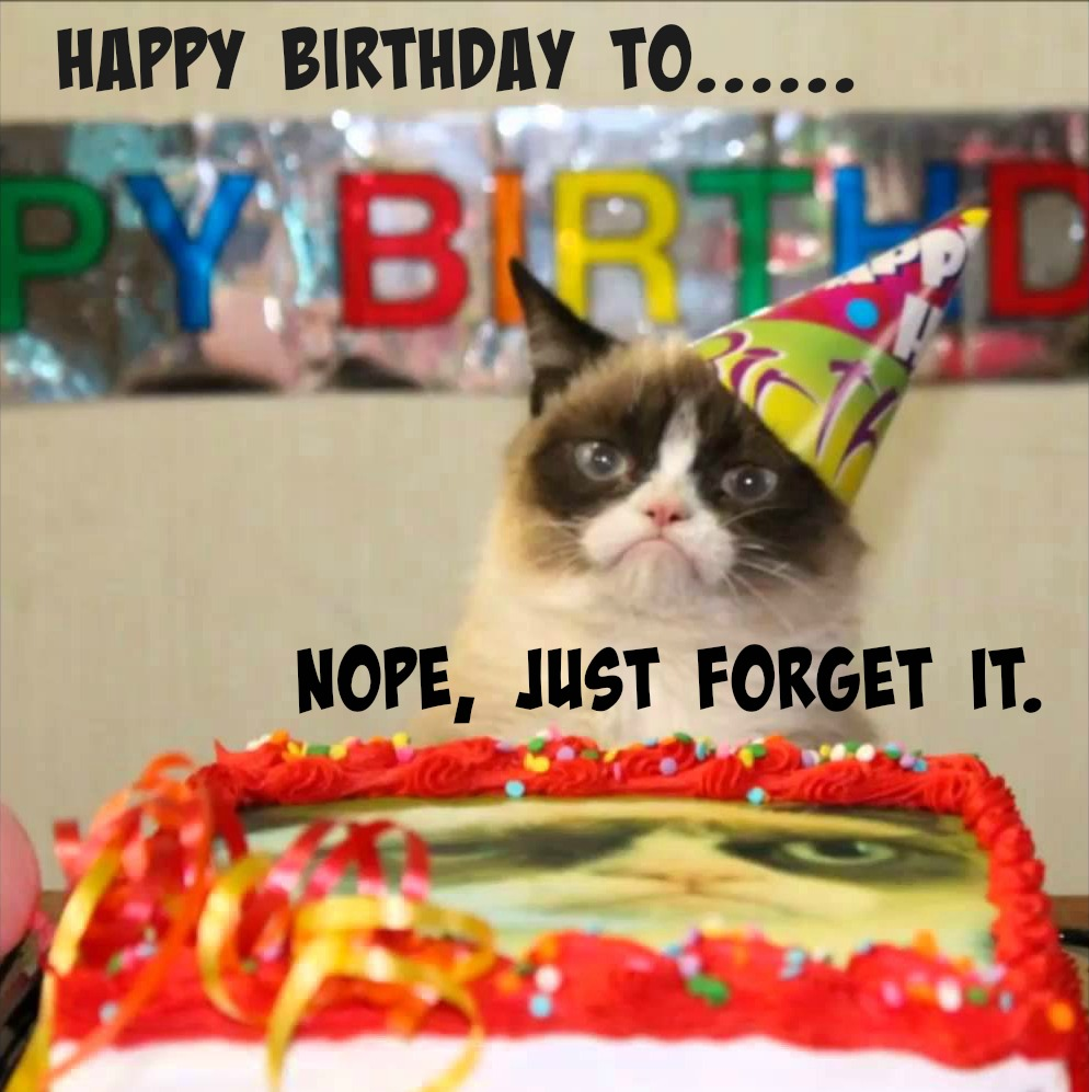 Birthday Meme Grumpy Cat Mommy Reality #31: A R...
