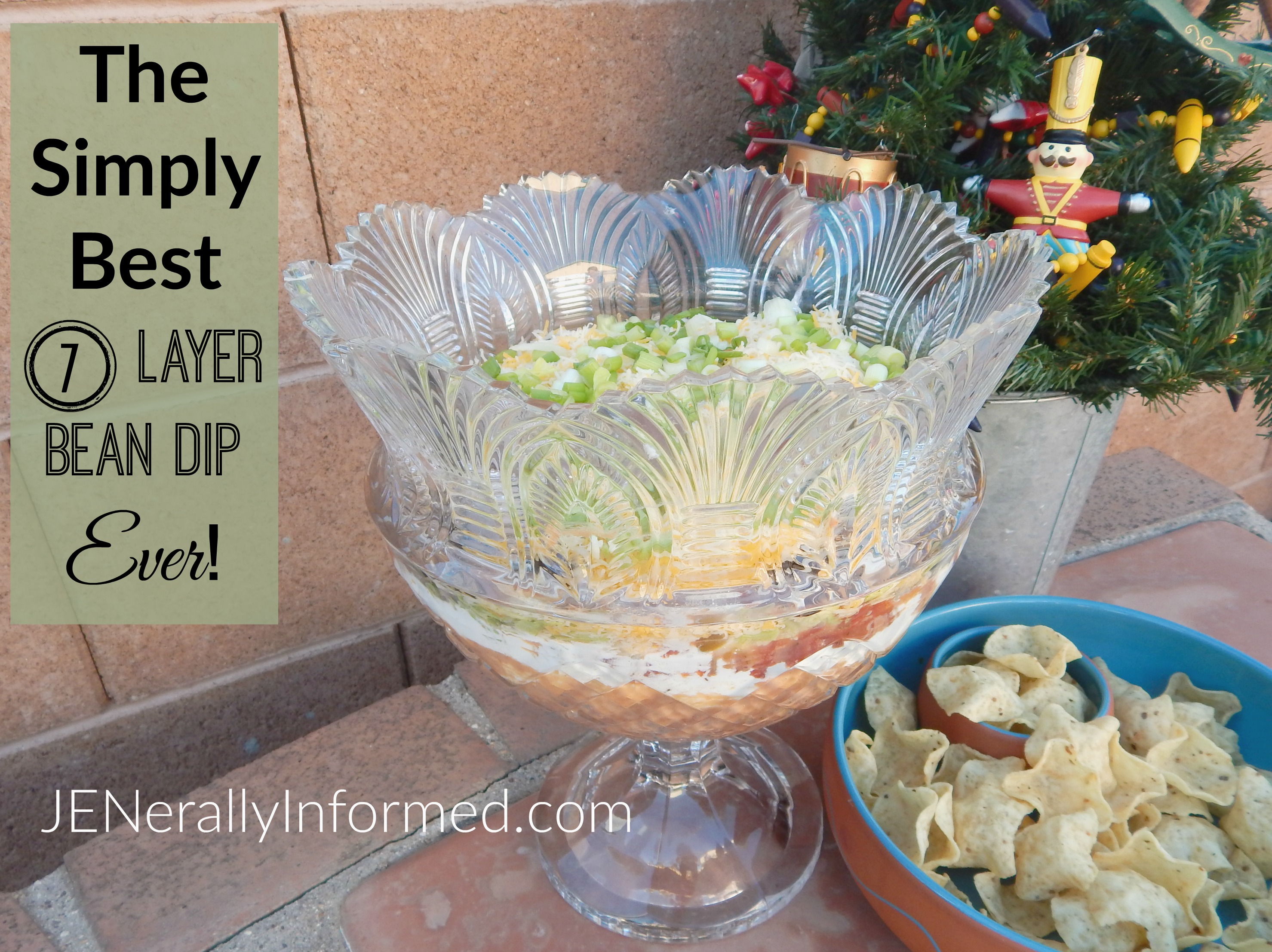 The Simply Best 7 Layer Bean Dip Ever