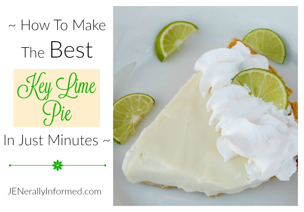 The BEST and Most Easy Key Lime Pie Recipe EVER!