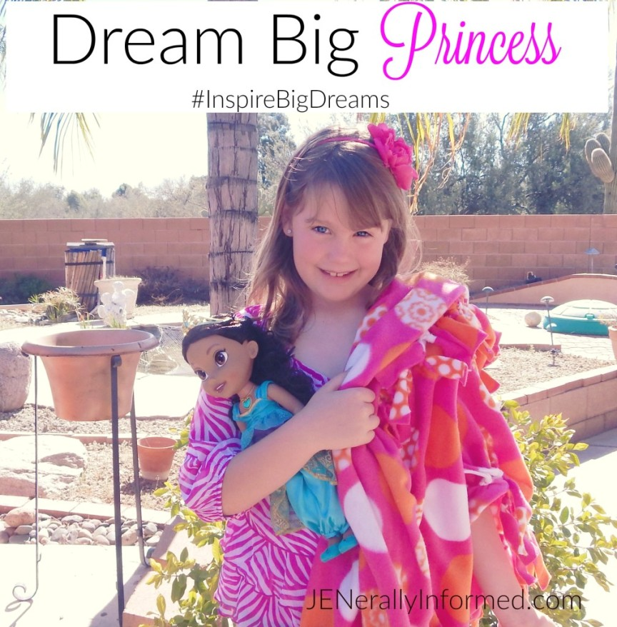 How to #InspireBigDreams for my little Princess!