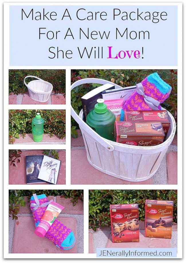 Make a #BlissfulMoments care package for a new #mom she will love!