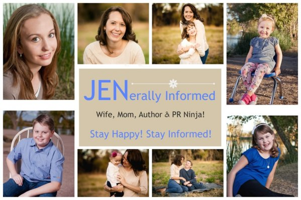 JENerally Informed; Wife, Mom, Author and PR Ninja!
