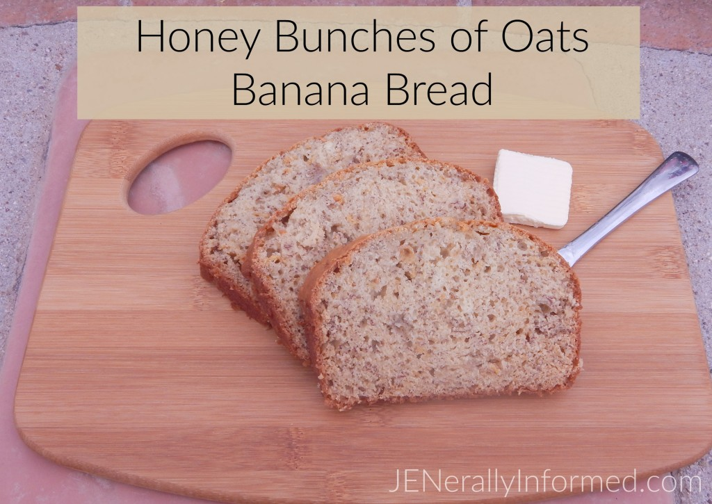 Honey Bunches of Oats Banana Bread