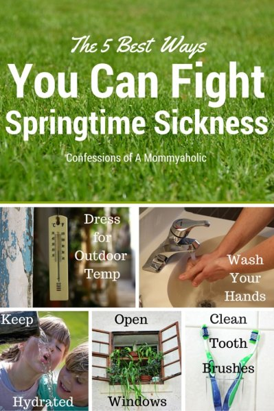 The 5 Best Ways To Fight Spring Sickness- Confessions of A Mommyaholic