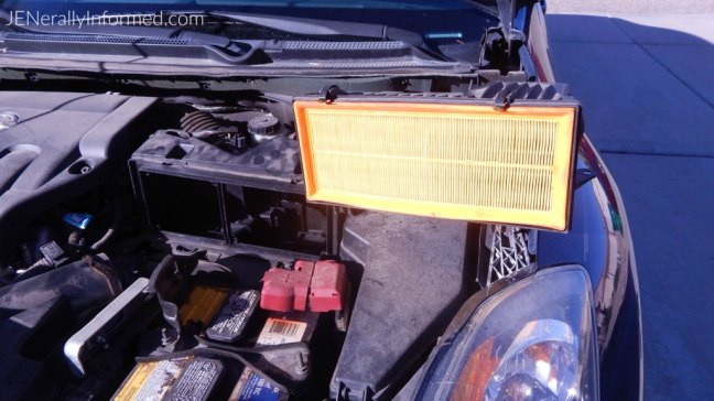 Get your car ready for summer by replacing the engine air filter in less than 5 minutes! #ad