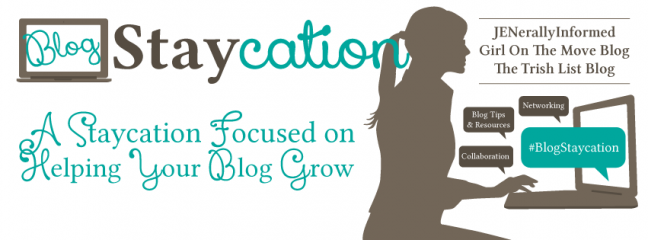 Join the Blog Staycation and help your blog grow!