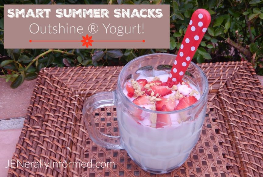 #SnackBrighter this summer with Outshine!