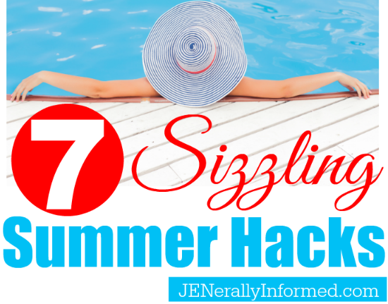 Check out these 7 sizzling summer hacks!
