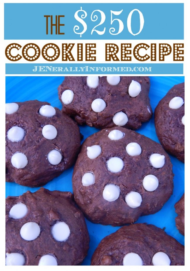 The cookie recipe to end all cookie recipes! You should really pin it now.