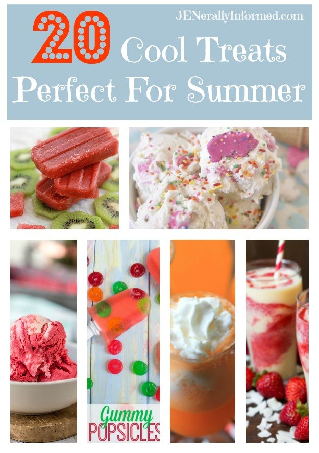 Try out these 20 Cool Treats Perfect For Summer!