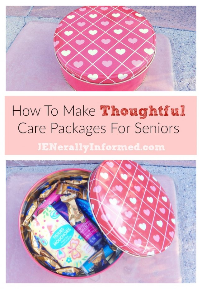 How to make thoughful gifts for seniors.