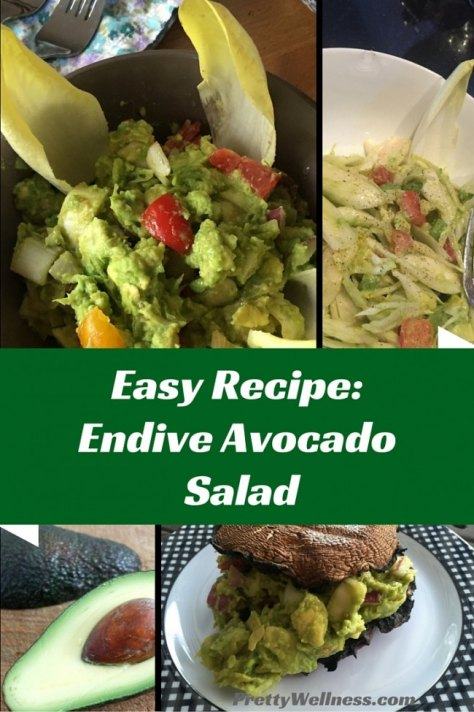 Easy Recipe: Endive Avocado Salad from Pretty Wellness.