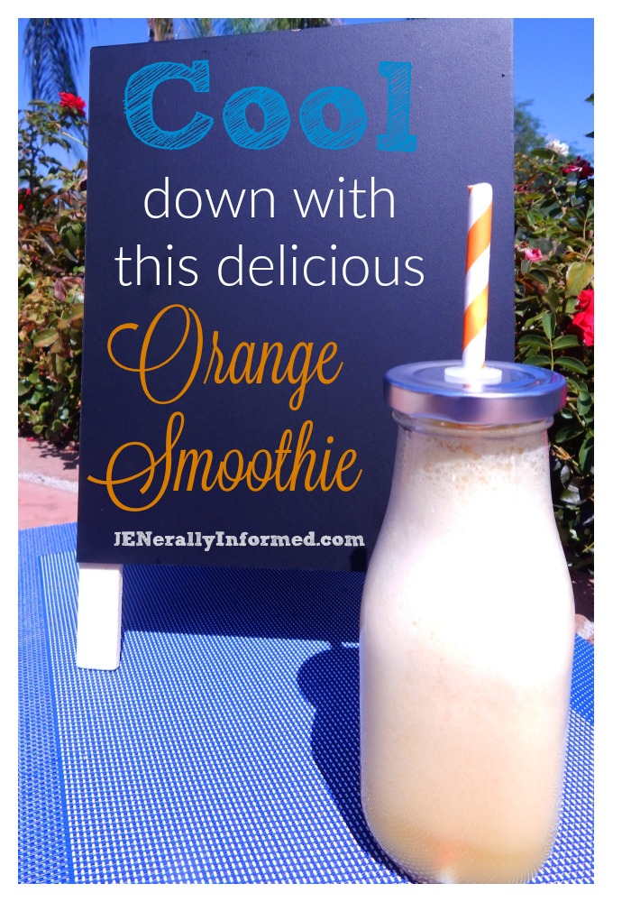 Delicious Orange Smoothie