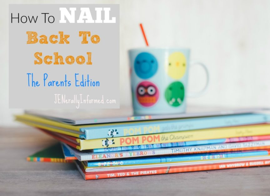 Parents follow these simple rules for a great back to school season!