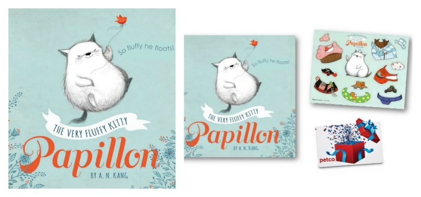 Papillon The Very Fluffly Kitty, an adorable new children's book from Disney-Hyperion Books!