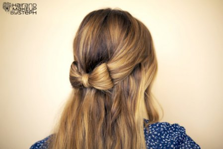 How to wow with a stylish hair bow twist updo!