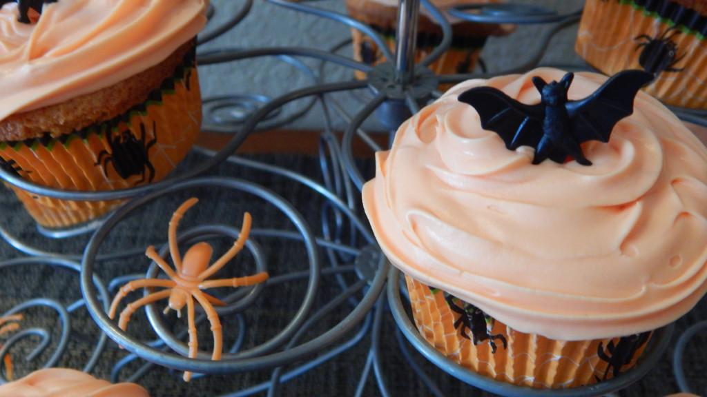 Orange Fanta® Creamsicle Cupcakes