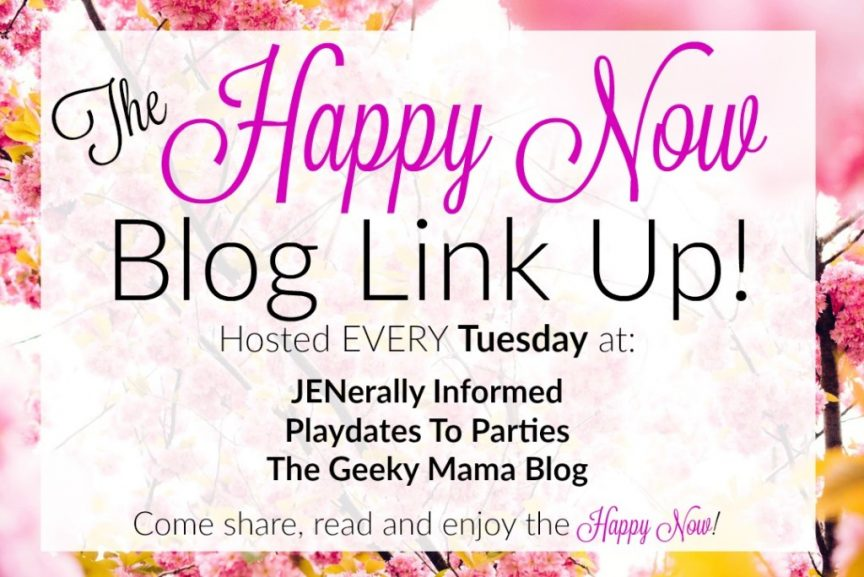 Every Tuesday get those posts seen and make others happy at the Happy Now Link-Up!