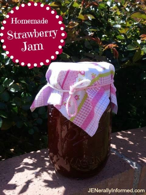 Learn how to make homemade strawberry jam!
