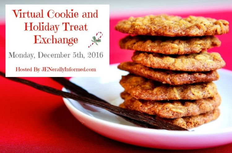 Virtual Cookie and Holiday Treat Exchange Hosted By Jen of JENerally Informed on Monday, December 5th, 2016!