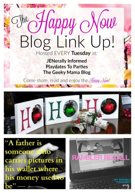 Check out these fantastic #happynowlinkup #36 features!