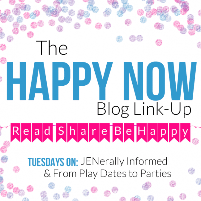 Once you link-up, don't forget to nab our Happy Now button!