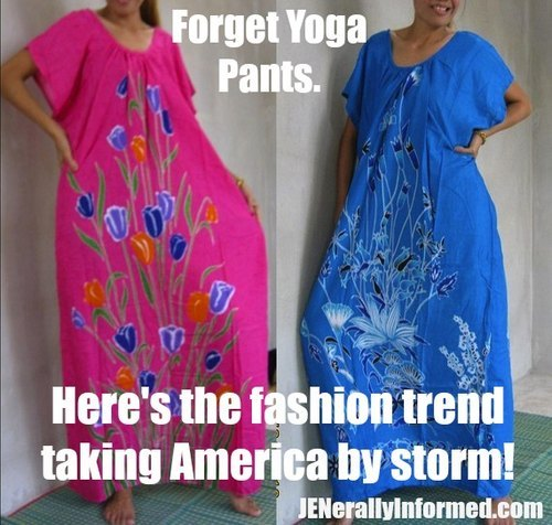 The fashion trend of the future and past is alreday here!