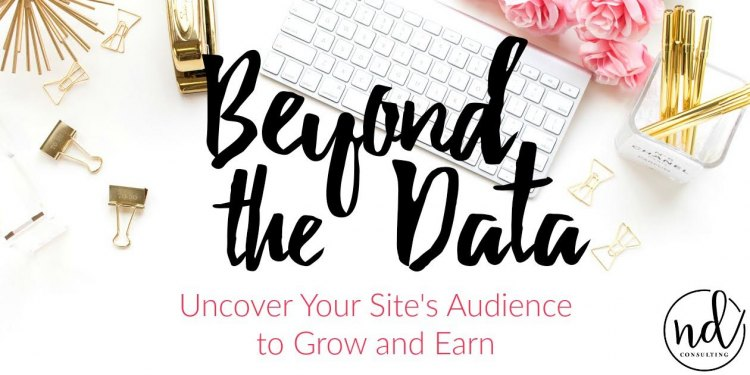 Set goals to uncover your site's audience to grow and earn.