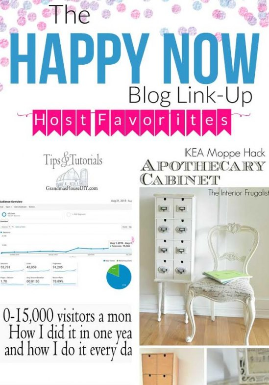 Take a look at the Happy Now Link-Up #47 Host favorites!
