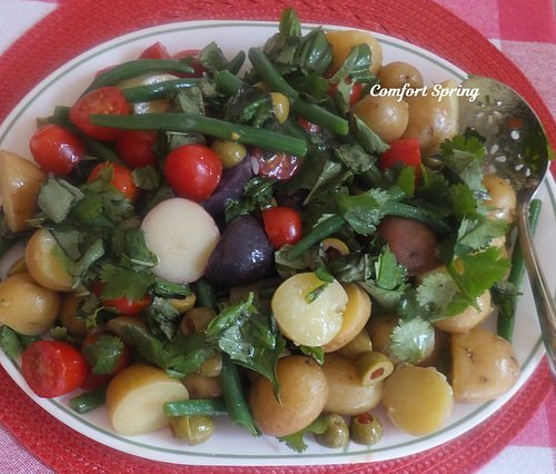 Green Bean and Potato Salad from Comfort Spring.