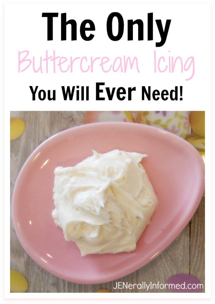 Not all icings are created equal. Here is the only buttercream icing you will ever need!