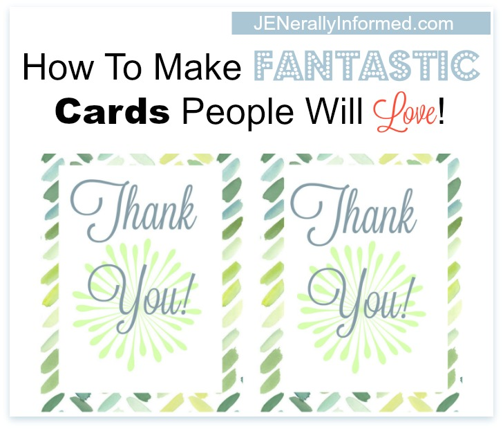Ever wanted to learn how to make your own personalized cards? Here is a step by step tutorial to show you how!