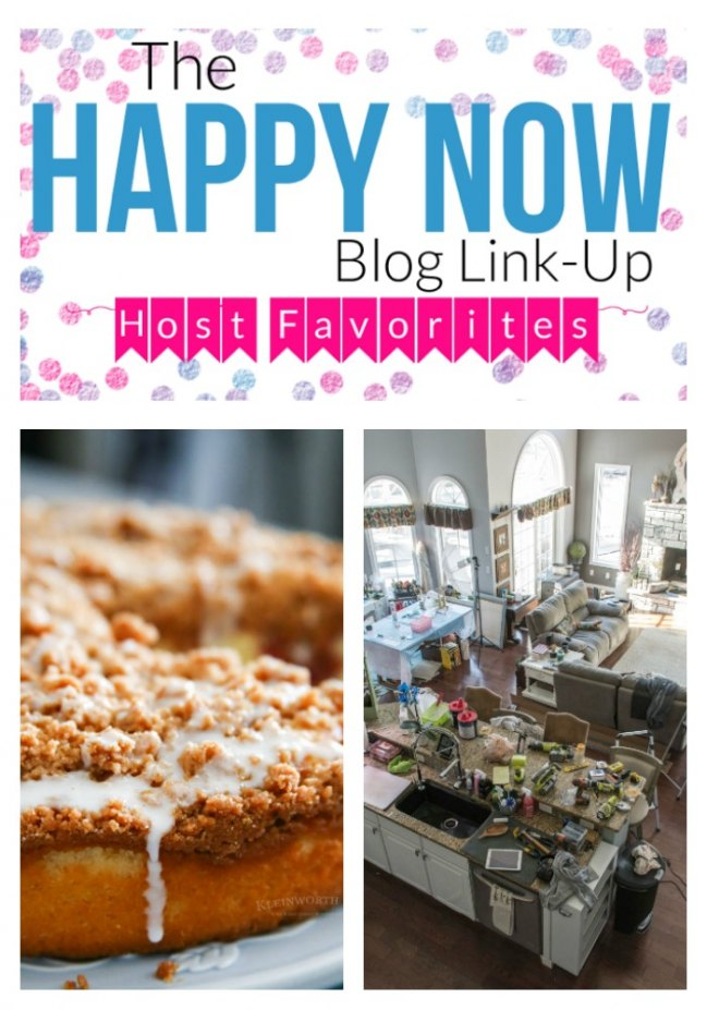 Happy Now Link-Up #58 Host Favorites!