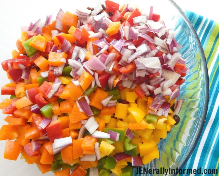 Learn how to make this delicious rianbow bean salad in less than 20 minutes!