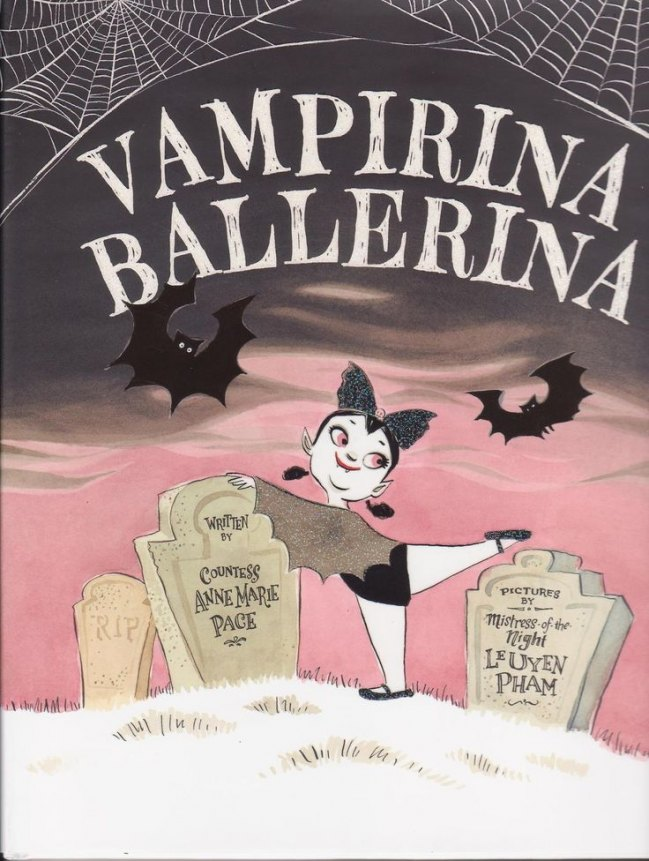 Meet Vampirina Ballerina! She's got grace, stye and fangs!