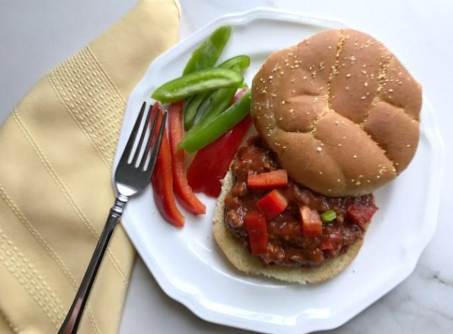 Simple Summer Homemade Sloppy Joes from Crafting a Family