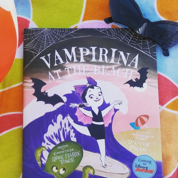 Get ready for summer and enter for a chance to win a copy of #VampirinaBallerina!