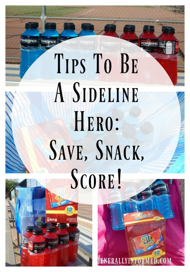 Tips To Be A Sideline Hero: Save, Snack, Score!