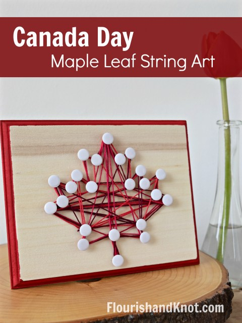 Learn how to make string art for any holiday!