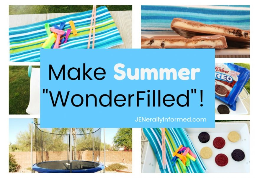 "Make your summer ""Wonderfilled' with these simple activities!"