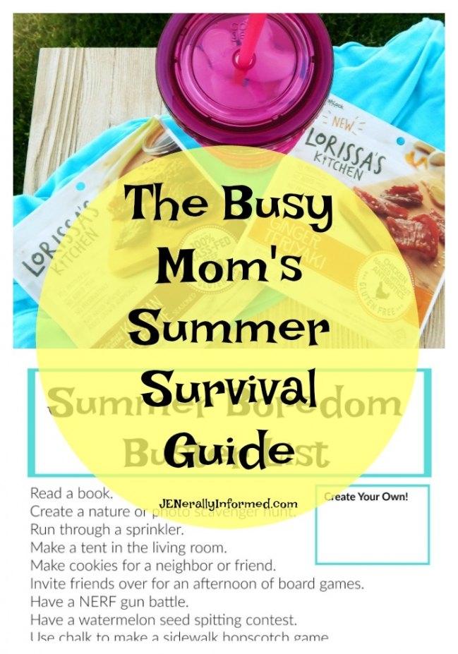 The Busy Mom's Summer Survival Guide Plus a Boredom Buster #Printable!