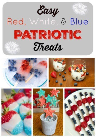 Easy Red, White and Blue Patriotic Treats!