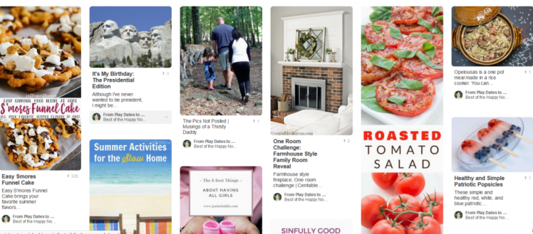 We would like to introduce you to the Best of The Happy Now Pinterest Board! Make sure to follo
