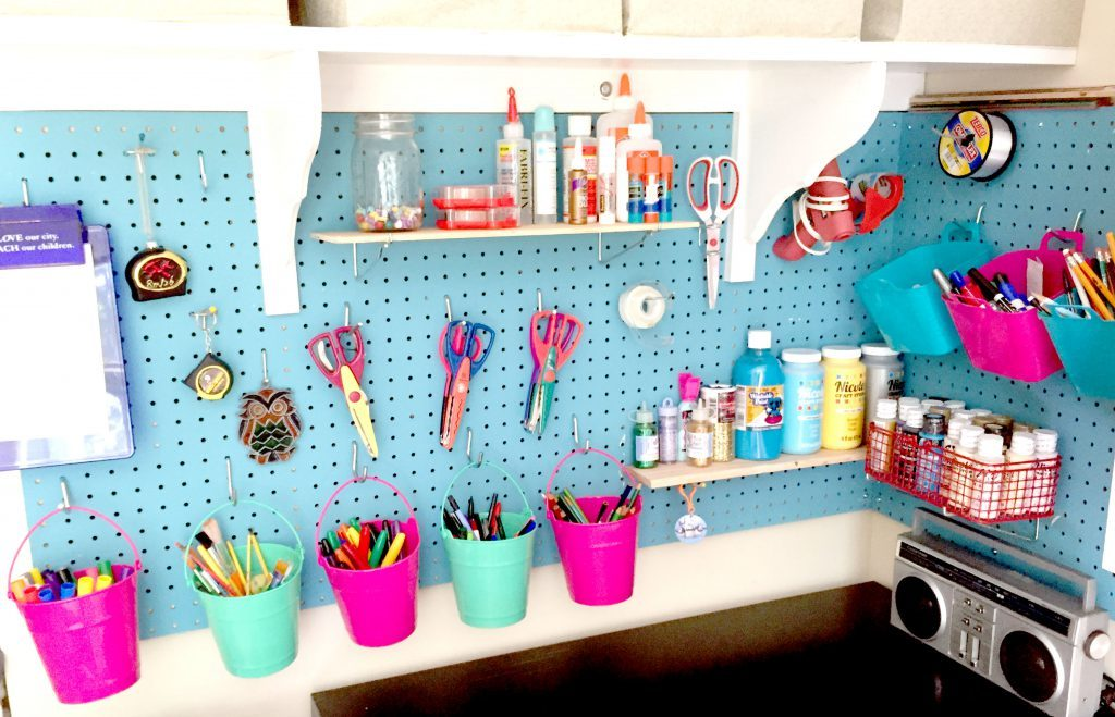 How To Create Craft Room Storage That Holds Everything