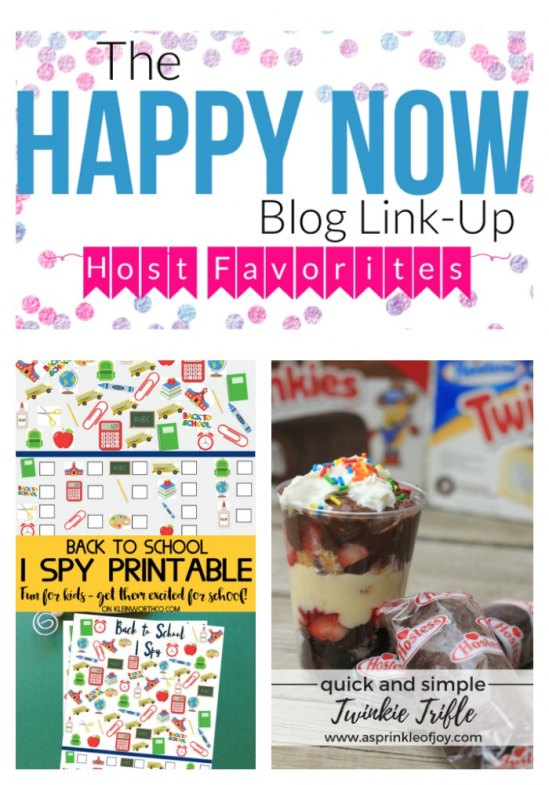Happy Now link-up #73 top read post and host favorites!