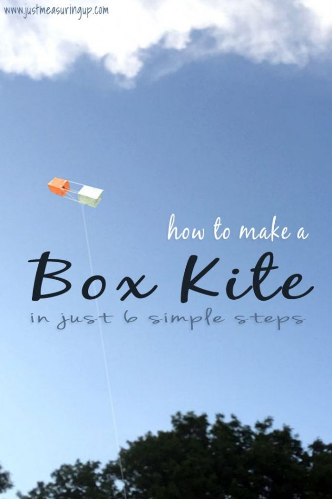 How To Make A Box Kite In 6 Simple Steps!