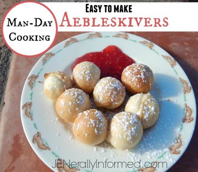 Try these delicious Danish Aebleskivers!