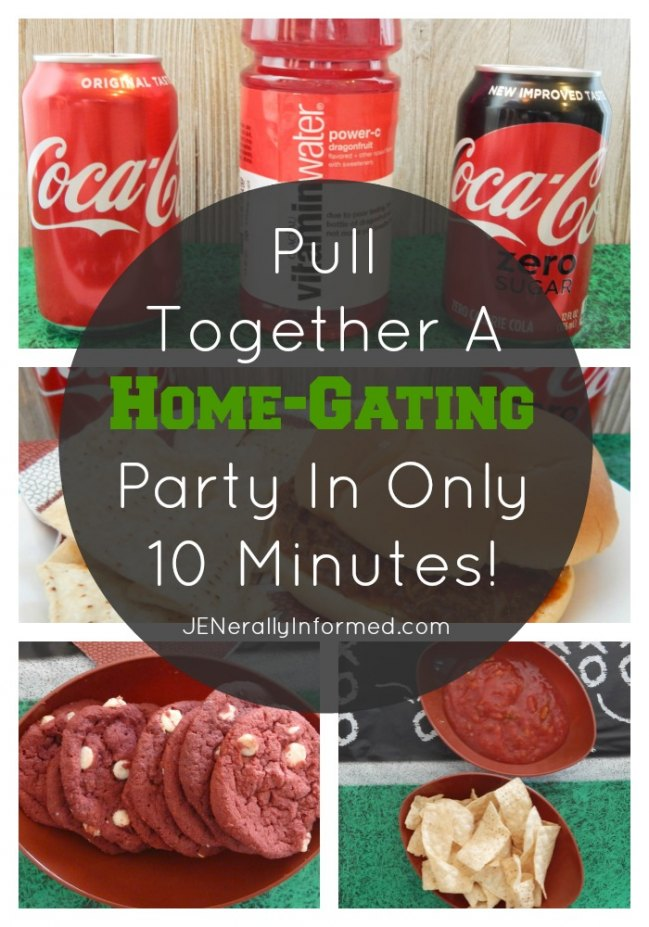 Pull Together A Home-Gating Party In Only 10 Minutes!