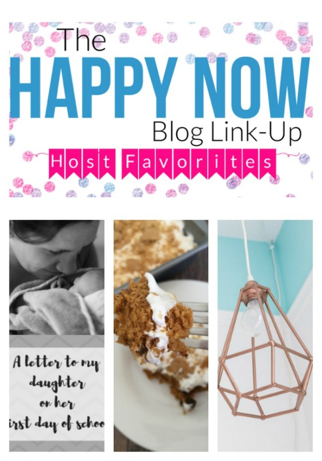Congratulations to Happy Now Link-Up week #77 top read and features bloggers!