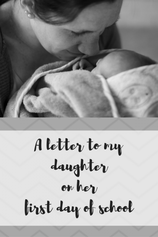 A Letter to my Daughter from A Sprinkle of Joy.